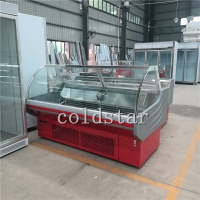 Quality Deli Meat Case Supermarket Equipment Display Refrigerator With ETL Approved for sale