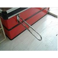 Buy Silver Supermarket Swing Barrier Gate 800mm Stretched Length Fixup Entry Gate at wholesale prices