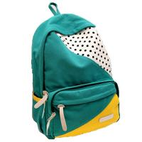 ECO Friendly Green Pretty Outdoor Sports Backpack Canvas Back Pack Personalized