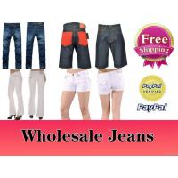 Buy cheap Wholesale Branded Jeans, Free Shipping, Accept Paypal from wholesalers