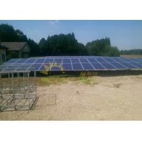 Quality Type N Ballasted Ground Mount Solar Racking Anodized 12um for sale