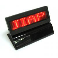 Quality Red light Led scrolling message display panel with base for sale