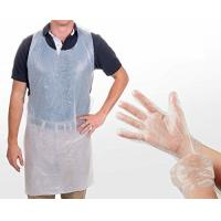 Quality Safety Disposable Medical Aprons , Disposable Kitchen Aprons 17 Mic Thickness for sale
