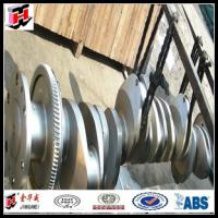 Quality marine crankshaft hot forging for sale