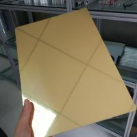Quality Waterproof Aluminum Mirror Sheet 1mm 2mm 3mm Thickness Perforated Exterior for sale