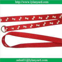 China Nylon Large Small Pet Dog Puppy Animals Supplies Leash Harness Necklace Rope Tie Collar on sale