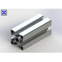 Quality 10.2mm Hole 45 * 45 Aluminum T Slot Table Plates 1.3mm Thickness Design for sale