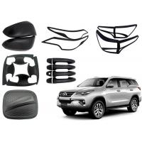 Quality TOYOTA Fortuner 2016 2018 Replacement Auto Body Parts Black And Chrome Color for sale