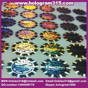 Dot matrix hologram label in China