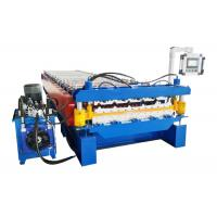 Quality Wall Sheet Portable Metal Roof Roll Forming Machine Material Expand Width 1250mm for sale