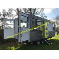 Quality Modern Design Shipping Container House On Wheels Tiny Container Home With AUS/NZ Approved for sale