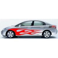 Quality waterproof car sticker for sale