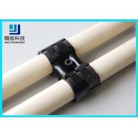 Quality Adjustable Swivel Metal Pipe Joints For Rotating In Pipe Rack System Black Fitting HJ-8 for sale