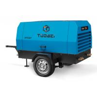 Quality 127cfm diesel power screw portable air compressor for sale for sale