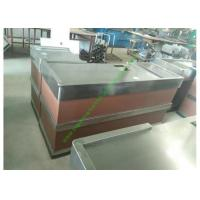 Quality Stainless Steel Cash Register Counter Stand / Till Counters For Shops Or Retail Stores for sale