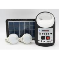 Quality hot sells solar panel lighting kits for camping, mini solar home  system , solar light for camping solar bule.yellow for sale