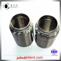 China Exhaust flexible pipe with interlock on sale