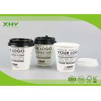 Quality Disposable 10oz 350ml 90mm Top Printed Single Wall Paper Cups for Coffee or Hot Drink with Lids for sale