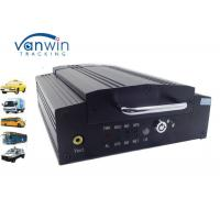 China G-sensor portable vehicle digital video recorder 4ch HDD DVR with CE / FCC on sale