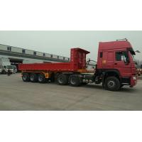 Quality 45 Ton Heavy Duty Semi Trailers With 8.0-20 Tires And 8000kg Tare Weight for sale