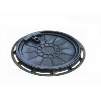 China FRP Composite Sanitary Sewer Drain Cover Heavy Duty 800x800 EN124 Standard on sale