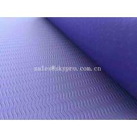 China Comfortable TPE Soft Yoga Mat / Professional Design Outdoor Yoga Mat 3mm-15mm Thickness on sale