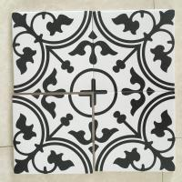 China Non Slip Surface Art Patterned Decorative Ceramic Tile / Bathroom Wall Tiles on sale