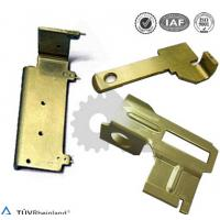 Quality OEM Metal Stamping Parts Yellow Zinc Plated , Metal Precision Parts for sale