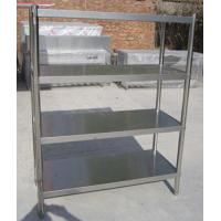 Quality Knock Down Stainless Steel Rack Shelving For Restaurant Kitchen Shelving Rack Rustless for sale