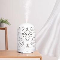 Quality 7.2W 100ml Ceramic Ultrasonic Diffuser Essential Oil Reed Diffuser for sale