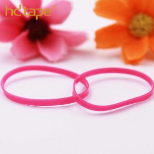 Quality Custom colorful eco-friendly plastic tpu elastic hair rubber band for sale