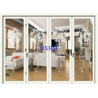 Quality Double Glazed Aluminum Folding Doors Impact Resistant For Apartments for sale