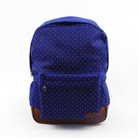 Starry Sky Style Soft Custom Canvas Backpacks Waterproof Lightweight For Teenagers