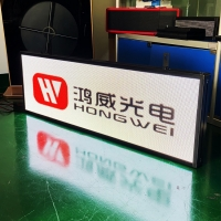 China Flashing Running Text Logo Sign P4 Led Scrolling Message Board on sale