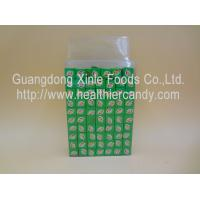 Quality Confectioners Sugar Candy Chocolate Cubes / Milk Cubes Transparent Box Pakaging for sale