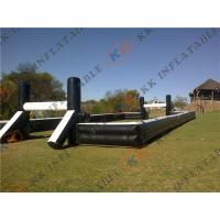 Quality Kids / Adults Inflatable Soccer Field Playground Outdoor Sports for sale