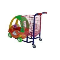 China Colorful Kids Metal Shopping Carts , Fashion Supermarket Grocery Shopping Cart on sale