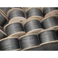 China 3mm Galvanized Steel Wire Rope , 6x37 and DIN / GB / EN12385-4 on sale