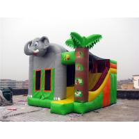 Quality Commercial Grade Indoor Inflatable Bounce House Hand Painting Available for sale