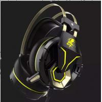 China gaming headset G5 with 5.1 surround sound Gaming Headphones,LED, no vibration on sale