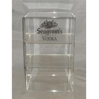 Quality Liquor Store Wine Display Stand Acrylic Wine Display Case With Custom Logo for sale