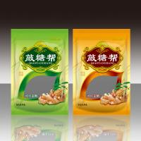 Quality Reclosed Plastic Food Packaging Bags Stand Up Pouch With Clear Window for sale