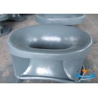 Quality NS2589 Cast Steel Fairleads For Boats Painted Surface Deck Mounted Chock for sale