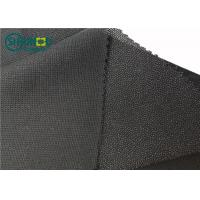 Quality 100% Polyester Mesh New Warp Knit Woven Fusible Interlining Fabric For Suit Uniform Clothing for sale