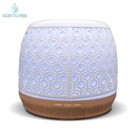 Quality PP ABS 2.4mHz 50ml/hr Iron 500ML Essential Oil Diffuser for sale
