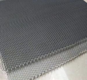 Quality Fireproof Alu Honeycomb Panels , Aluminium Honeycomb Sheet Hotels Malls for sale