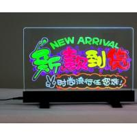 Quality Flashing Illuminated Erasable Neon LED Writing Board Menu Table Sign with Controller LED Message Board Display LED Sign for sale