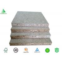Quality China Guangzhou furniture grade 9-30mm  cheap plain particle board plant for sale