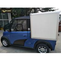 Quality Cargo Carrier light duty electric van 2 Passenger with Reverse Sensor High Speed for sale