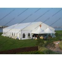 20 x 25m White Wedding Event Tents , Outdoor Luxury Tent Wedding Ceremony